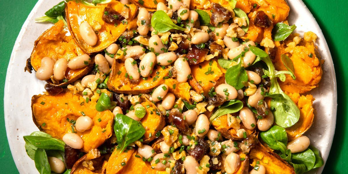 Sweet Potato and Date Salad