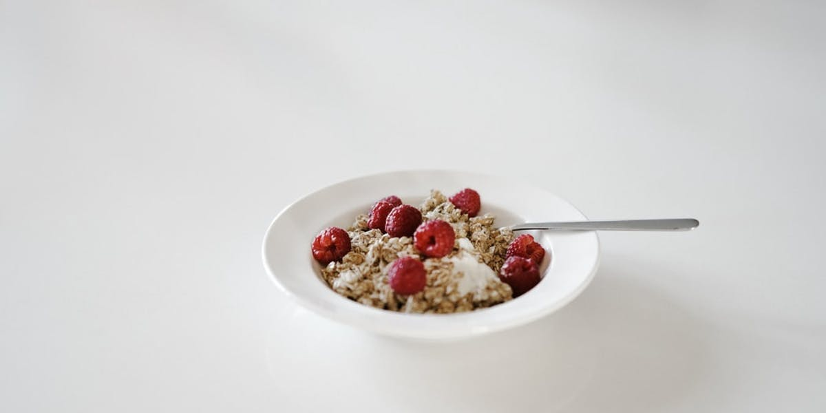weetabix in bowl with fruit