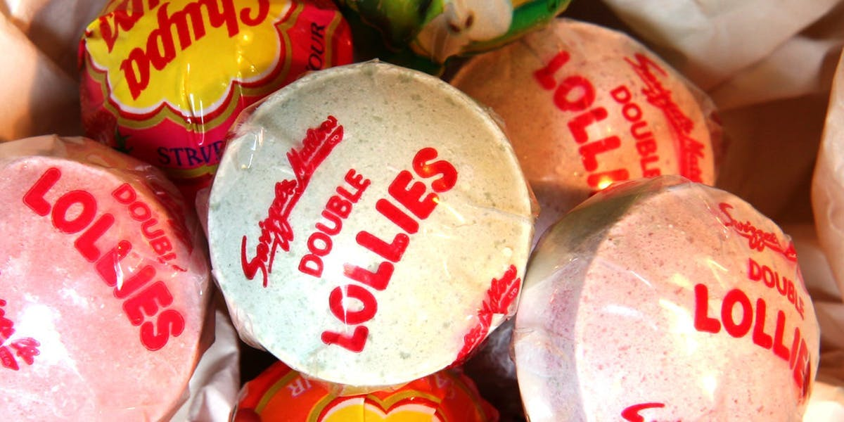 shot of different lollipops